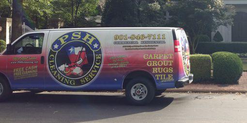 PSH Floorcare Van